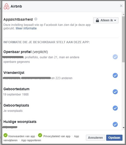 FB privacyinstellingen 3