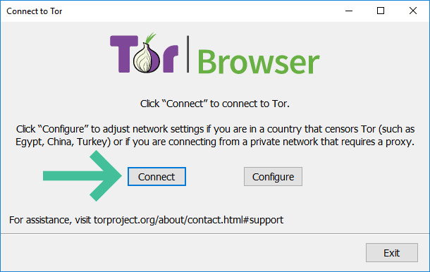 Tor Opstart Netwerkinstellingen Connect