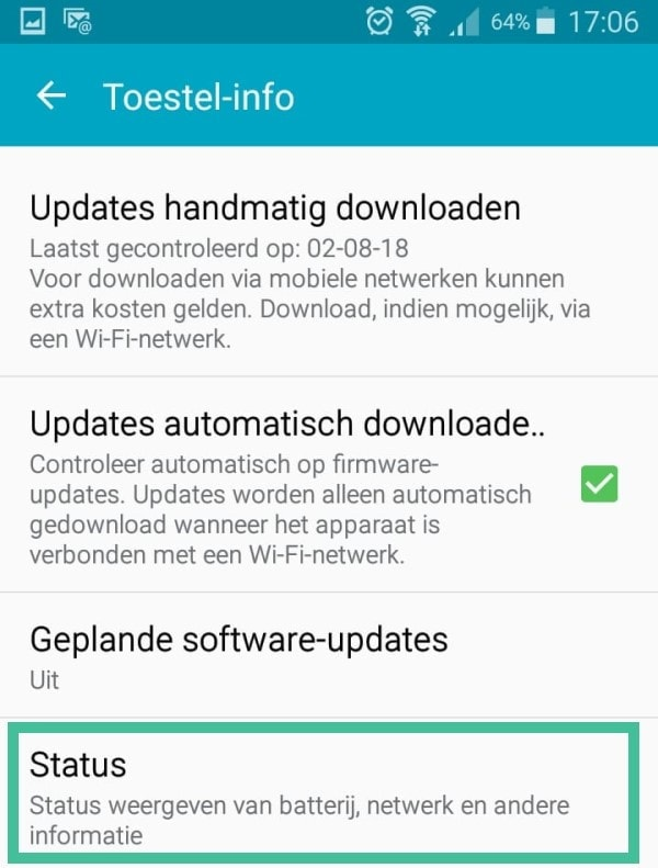 Android MAC-adres
