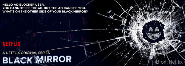 Black Mirror Advertentie Engels