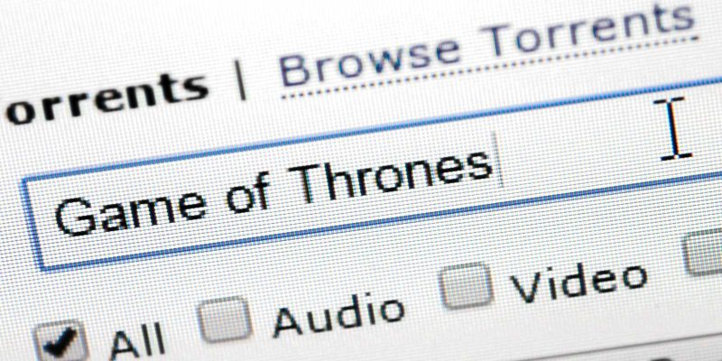 Game of Thrones zoeken op The Pirate Bay