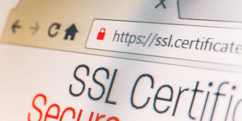 Screenshot SSL Certificaat