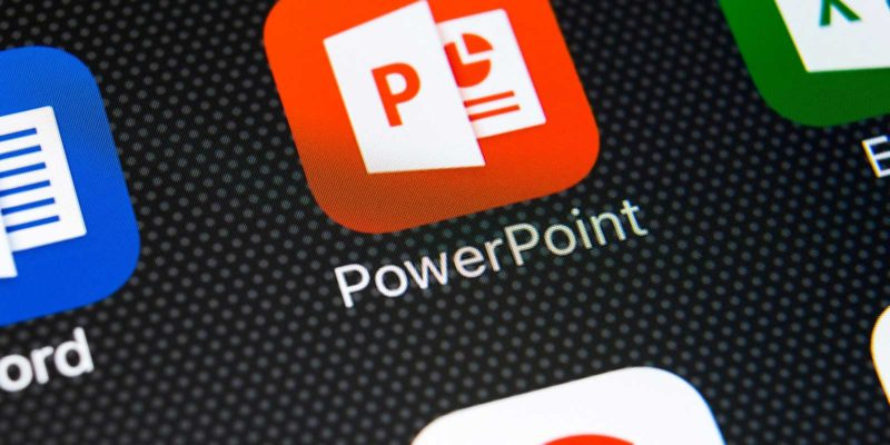 PowerPoint app op smart device