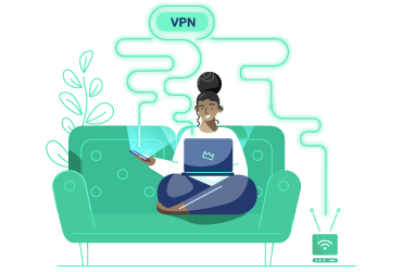 VPN Categorie Illustratie Homepage